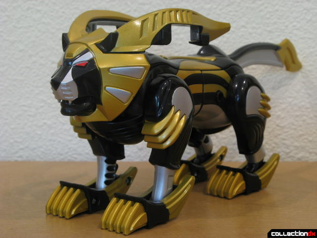 Transforming Fury Megazord Set- Lion Spirit Zord (front)