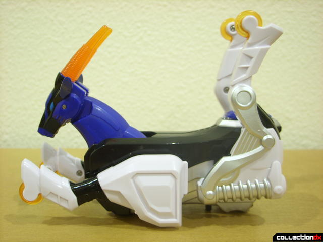 Deluxe Jungle Master Megazord- Antelope Spirit Zord (legs prepared to accept Penguin)
