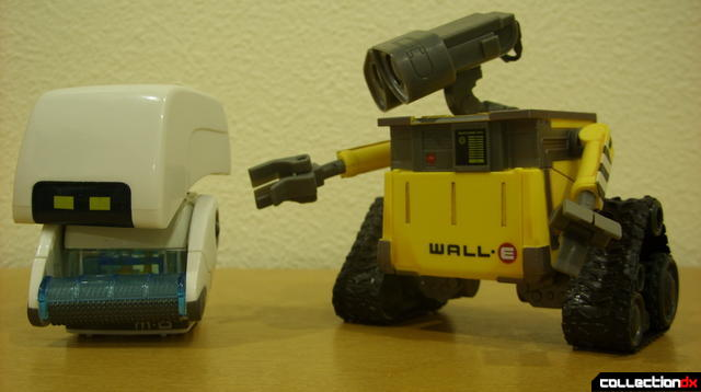 Clean-N-Go M-O (L) and U-Repair WALL-E (R)