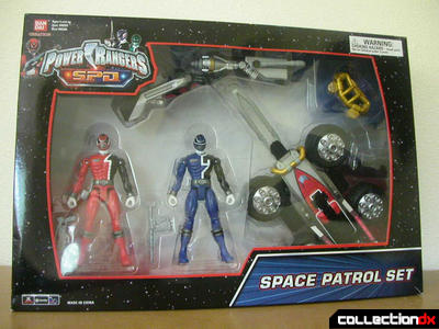Space Patrol Set in Box