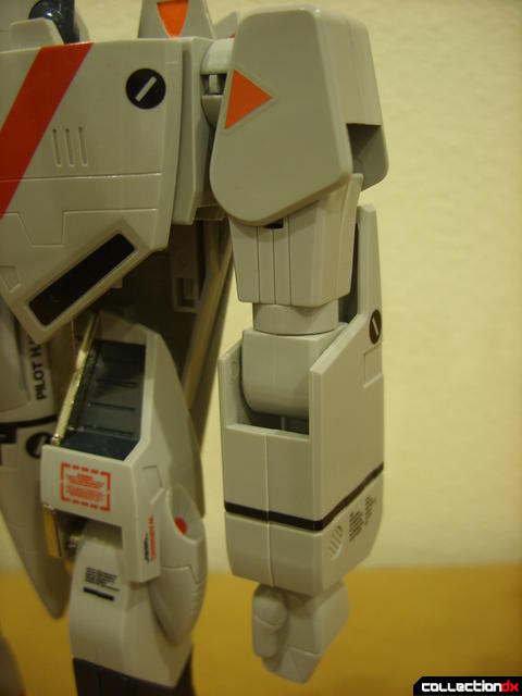 Origin of Valkyrie VF-1J Valkyrie- Battroid Mode (left arm detail)