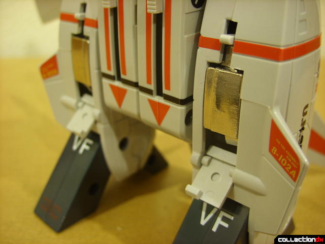 Origin of Valkyrie VF-1J Valkyrie- Fighter Mode (aft landing gear retracted)