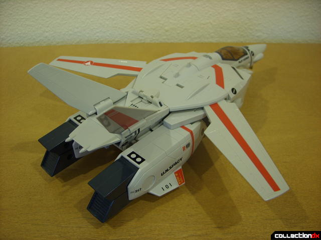 Origin of Valkyrie VF-1J Valkyrie- Fighter Mode (back)