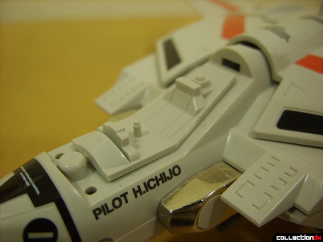 Origin of Valkyrie VF-1J Valkyrie- Fighter Mode (canopy removed)