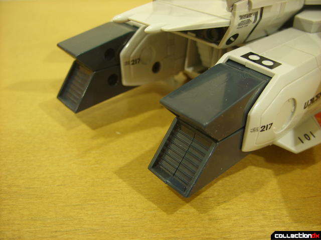 Origin of Valkyrie VF-1J Valkyrie- Fighter Mode (exhaust nozzels, closed normally)