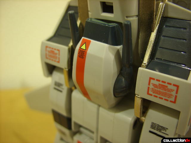Origin of Valkyrie VF-1J Valkyrie- Fighter Mode (laser cannon detail)