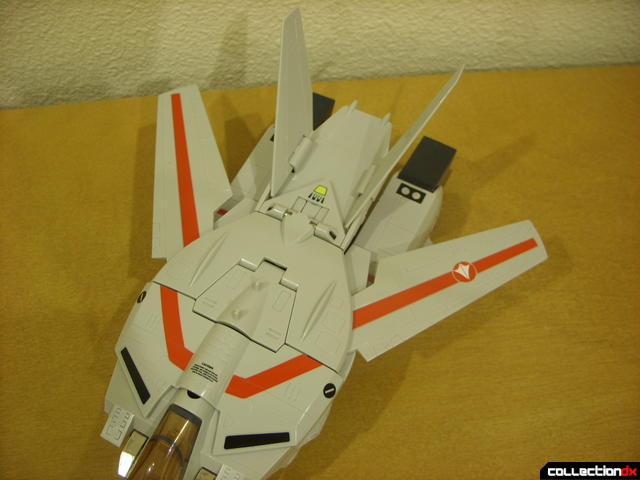 Origin of Valkyrie VF-1J Valkyrie- Fighter Mode (wings retracted)