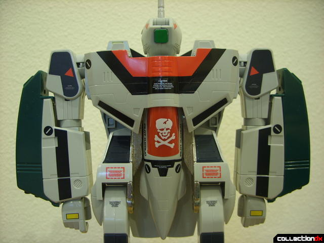 Origin of Valkyrie VF-1A Super Valkyrie Ichijyo- Battroid Mode (missile launchers attached)