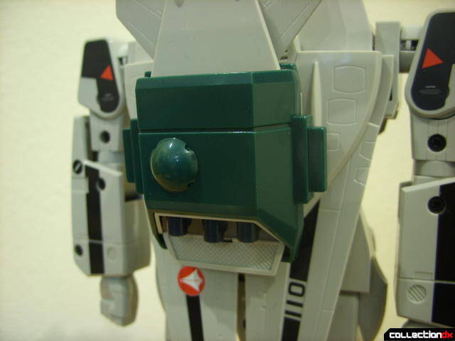 Origin of Valkyrie VF-1A Super Valkyrie Ichijyo- Battroid Mode (with booster clip-on)