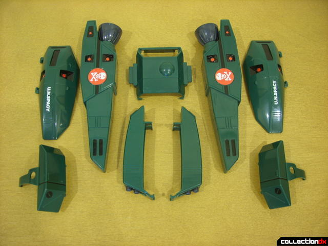 Origin of Valkyrie VF-1A Super Valkyrie Ichijyo- FAST Pack accessory armor