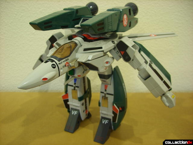 Origin of Valkyrie VF-1A Super Valkyrie Ichijyo- GERWALK Mode (front)