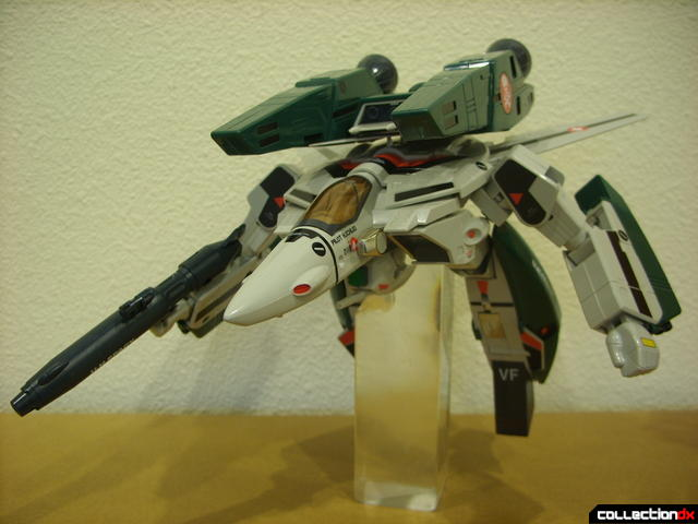 Origin of Valkyrie VF-1A Super Valkyrie Ichijyo- GERWALK Mode posed (2)