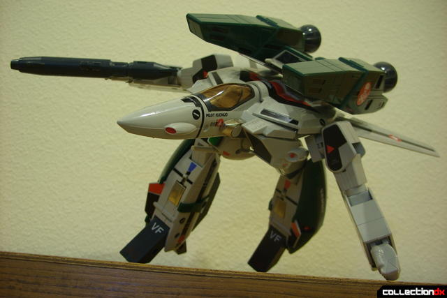 Origin of Valkyrie VF-1A Super Valkyrie Ichijyo- GERWALK Mode posed (3)