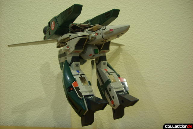 Origin of Valkyrie VF-1A Super Valkyrie Ichijyo- GERWALK Mode posed (4)