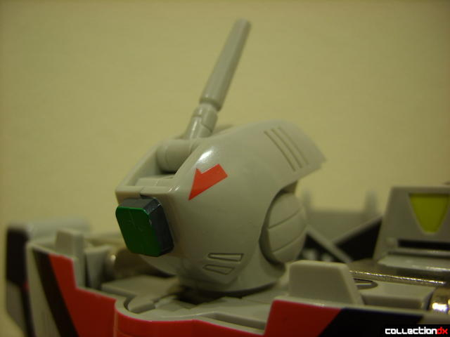 Origin of Valkyrie VF-1A Valkyrie Ichijyo ver.- Battroid Mode (head detail)