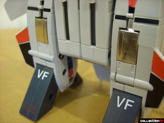 Origin of Valkyrie VF-1A Valkyrie Ichijyo ver.- Fighter Mode (aft landing gear with doors closed)