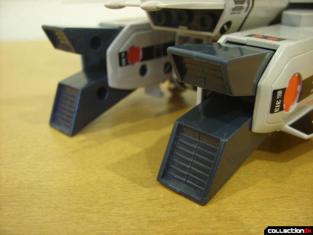 Origin of Valkyrie VF-1A Valkyrie Ichijyo ver.- Fighter Mode (exhaust nossles, opened)