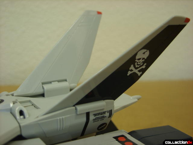 Origin of Valkyrie VF-1A Valkyrie Ichijyo ver.- Fighter Mode (V-tail stabilizer detail)