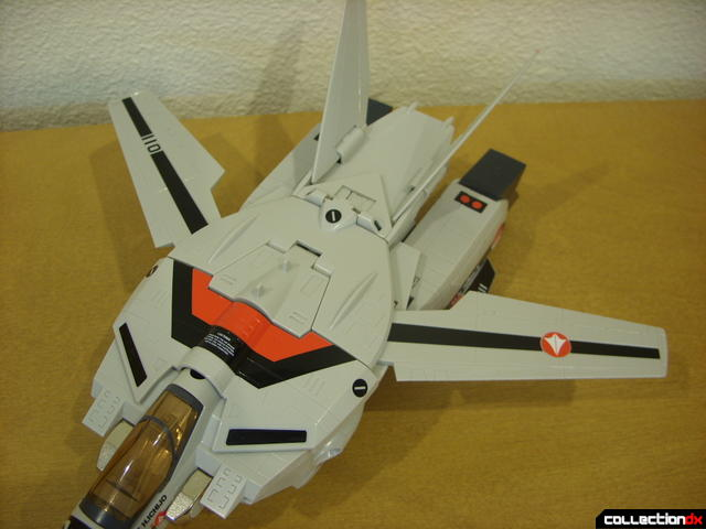 Origin of Valkyrie VF-1A Valkyrie Ichijyo ver.- Fighter Mode (wings opened normally)