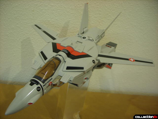 Origin of Valkyrie VF-1A Valkyrie Ichijyo ver.- Fighter Mode dramatic angle (1)