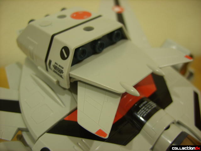 Origin of Valkyrie VF-1A Valkyrie Ichijyo ver.- GERWALK Mode (dorsal thruster backpack detail)