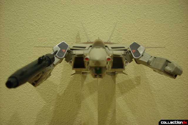 Origin of Valkyrie VF-1A Valkyrie Ichijyo ver.- GERWALK Mode posed (1)