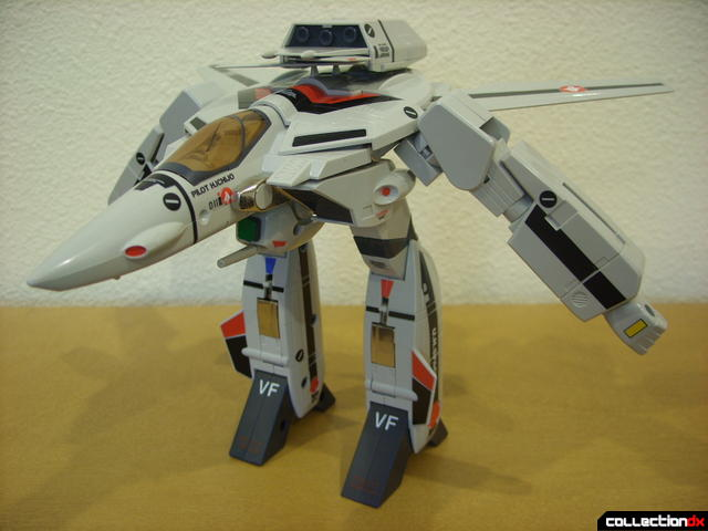 Origin of Valkyrie VF-1A Valkyrie Ichijyo ver.- GERWALK Mode without decals