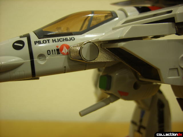 Origin of Valkyrie VF-1A Valkyrie Ichijyo ver.- leg transformation bar detail (1)