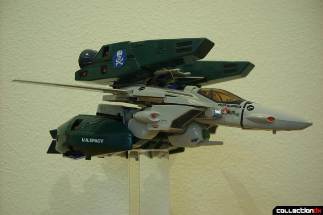 Origin of Valkyrie VF-1A Super Valkyrie Max ver.- Fighter Mode dramatic angle (2)