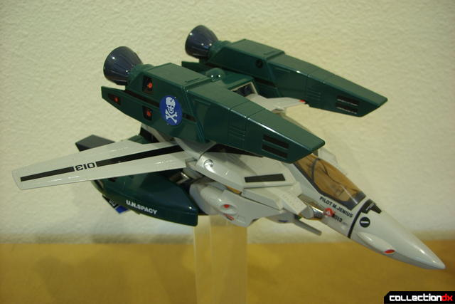 Origin of Valkyrie VF-1A Super Valkyrie Max ver.- Fighter Mode dramatic angle (3)