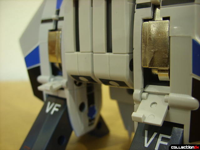 Origin of Valkyrie VF-1A Valkyrie Max ver.- Fighter Mode (aft landing gear retracted)