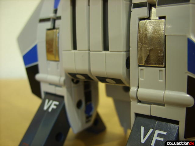 Origin of Valkyrie VF-1A Valkyrie Max ver.- Fighter Mode (aft landing gear with doors closed)