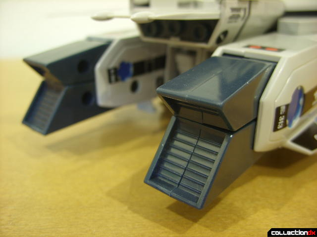 Origin of Valkyrie VF-1A Valkyrie Max ver.- Fighter Mode (exhaust nozzel detail)