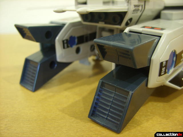 Origin of Valkyrie VF-1A Valkyrie Max ver.- Fighter Mode (exhaust nozzel detail, opened)