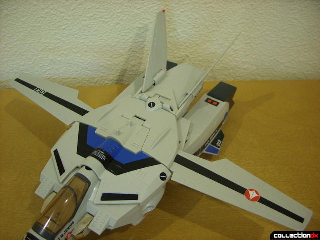 Origin of Valkyrie VF-1A Valkyrie Max ver.- Fighter Mode (wings oddly opened 90-degrees)
