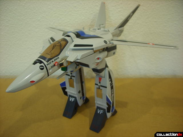 Origin of Valkyrie VF-1A Valkyrie Max ver.GERWALK Mode (with arms retracted)