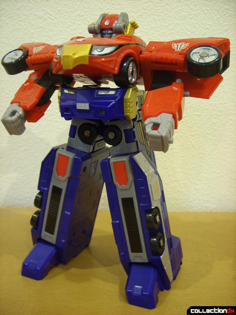 High Octane Megazord (if there was no Bear Crawler, you wouldn't miss it...)