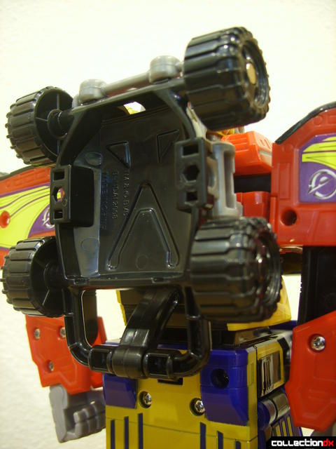 High Octane Megazord (shield attached to back)