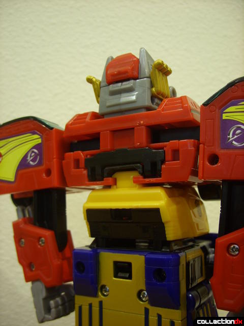 High Octane Megazord (shield removed from back)
