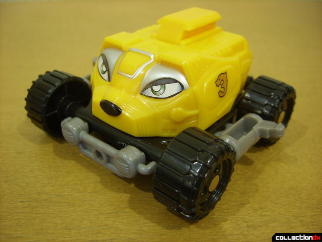 High Octane Megazord- Bear Crawler Zord Attack Vehicle (front)
