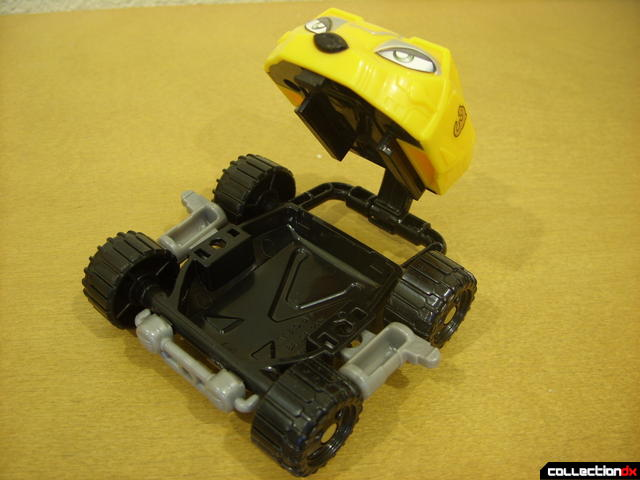 High Octane Megazord- Bear Crawler Zord Attack Vehicle ('mouth open' undercarriage detail)