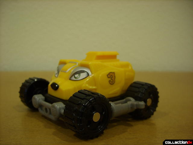 High Octane Megazord- Bear Crawler Zord Attack Vehicle (yellow section normal)