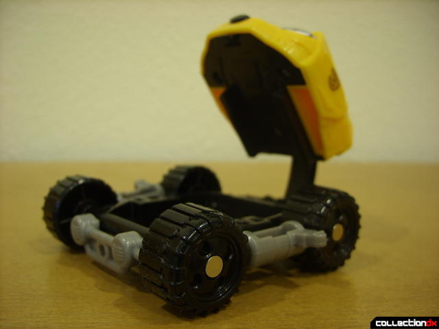 High Octane Megazord- Bear Crawler Zord Attack Vehicle (yellow section raised like a mouth)