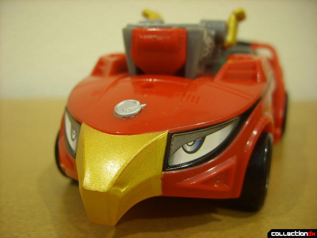 High Octane Megazord- Eagle Racer Zord Attack Vehicle (close-up on front)