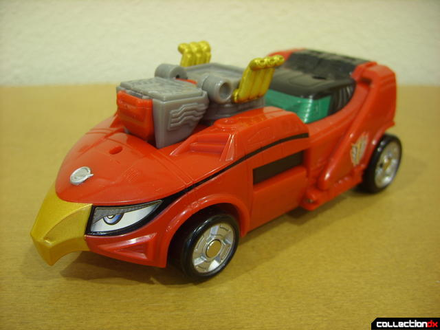 High Octane Megazord- Eagle Racer Zord Attack Vehicle (front)