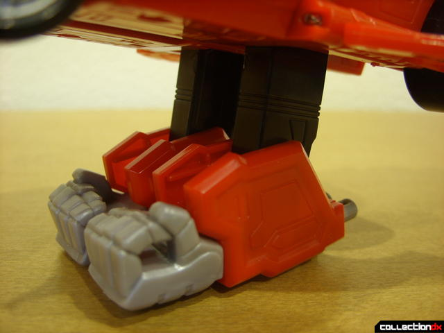 High Octane Megazord- Eagle Racer Zord Attack Vehicle (undercarriage 'legs' deployed)