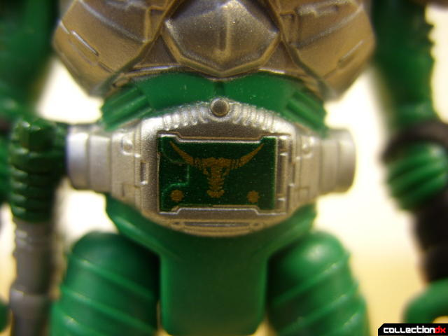 Kamen Rider Torque (Advent belt detail)
