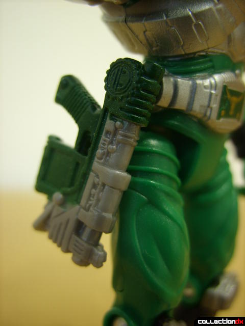 Kamen Rider Torque (Magnuvisor attached to Advent Belt)