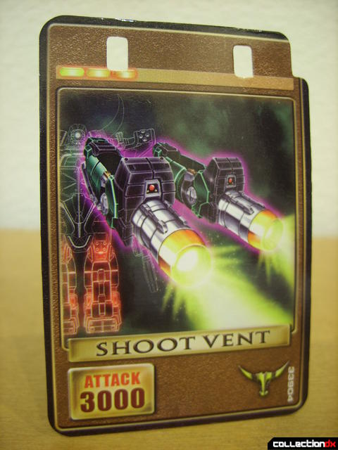 Kamen Rider Torque (Shoot Vent Advent Card)