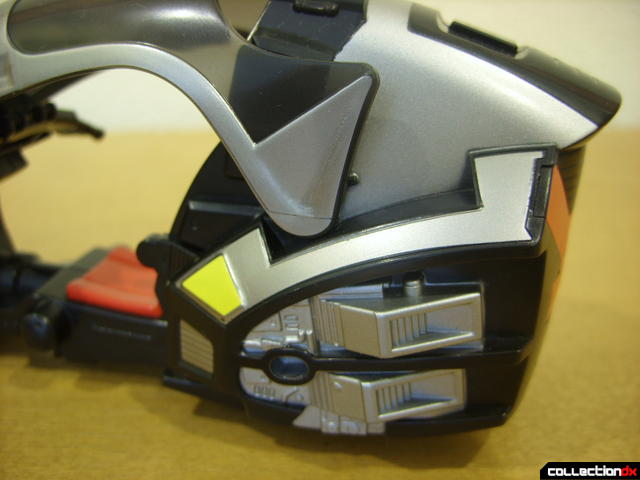 Kamen Rider Blank Knight with Advent Cycle (back detail)
